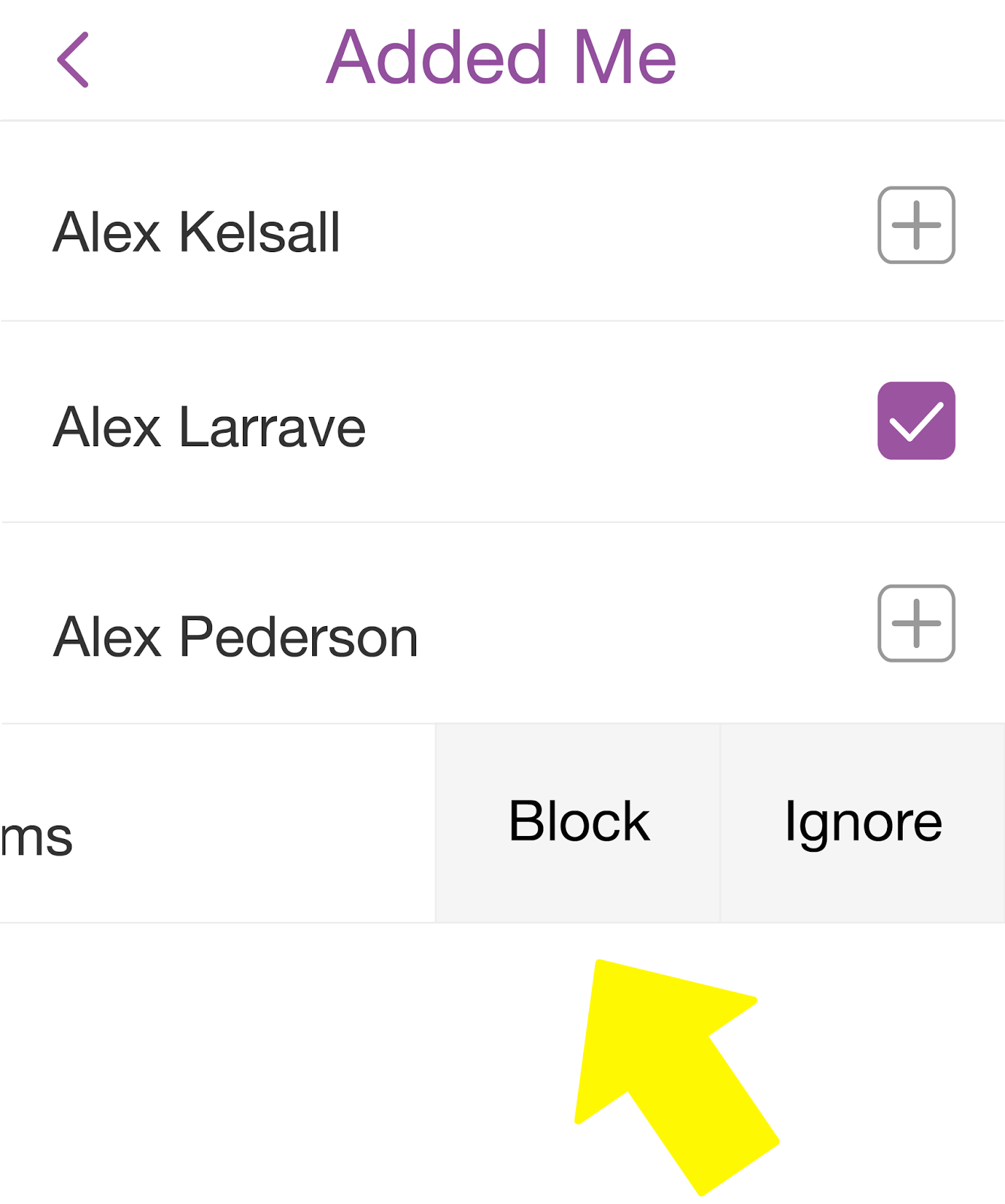 Snapchat tricks the complete guide to snapchat app go to your list of friends and scroll down until you reach the username of the person you wish to block 3 tap once on their name then tap the gear icon buycottarizona