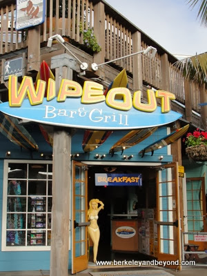 entrance to the Wipeout Bar & Grill in San Francisco