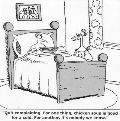 Chicken Soup Funny Joke Image Cartoon