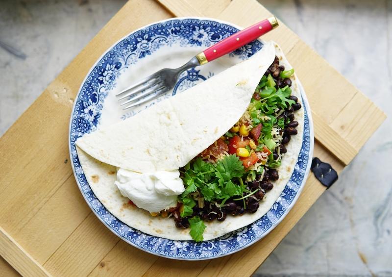 tortilla, meksikolainen ruoka, arkiruoka