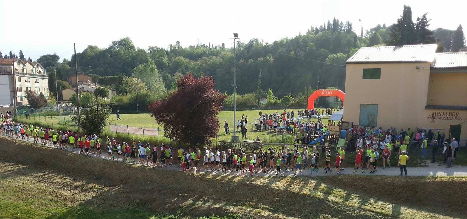 Gruppo Podistico Fratellanza Popolare Grassina: Ecomarathon Bagno a ...