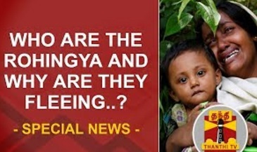 Special News | Who are the Rohingya and why are they fleeing? | Thanthi Tv