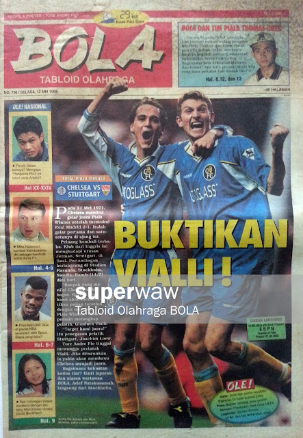 Tabloid BOLA: BUKTIKAN VIALLI