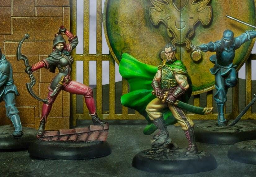 -Ras al´ghul-nissa al´ghul-ligue of shadows-liga de las sombras-knight models-Close-Up