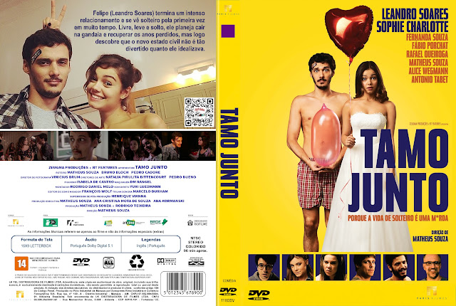 Capa DVD Tamo Junto [Exclusiva]