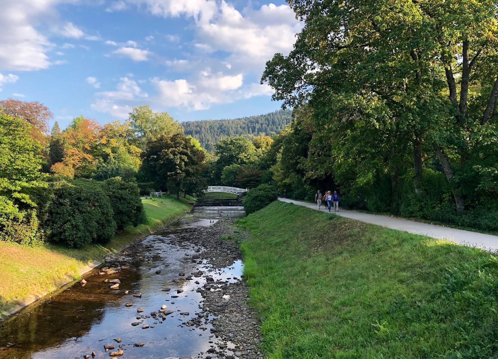 Baden-Baden - die Oos