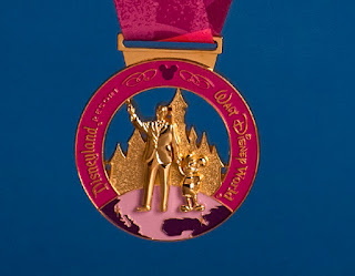 Special Coast to Coast Challenge medal