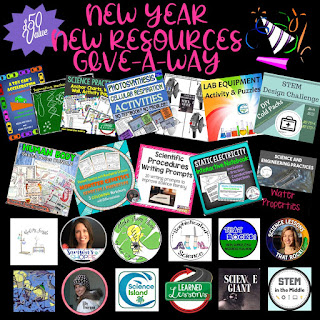 New Year New Resources Giveaway