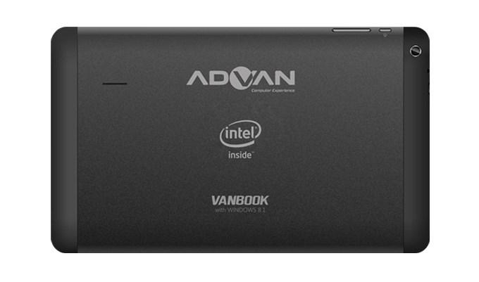 Spesifikasi Advan Vanbook W100