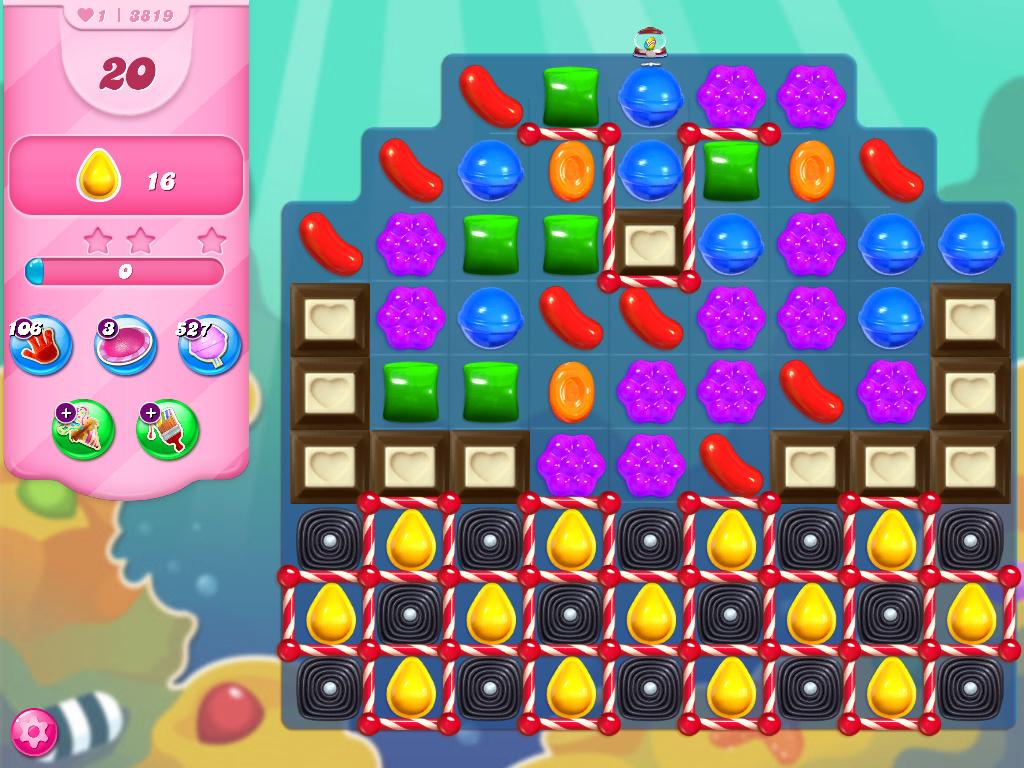 Candy Crush Saga level 3819
