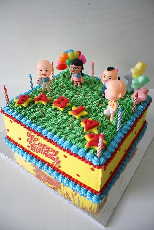 Masama Cakes Upin Ipin Birthday Cake For Fabian