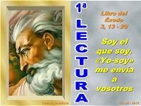 Resultado de imagen para En aquellos días, Moisés, después de oír la voz del Señor desde la zarza ardiendo, le replicó