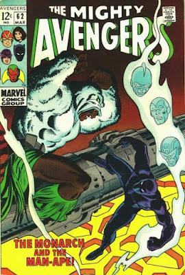 Avengers #62, Man-Ape