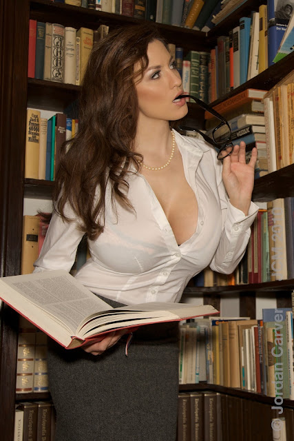 jordan-carver-library-hot-sexy-photo-shoot
