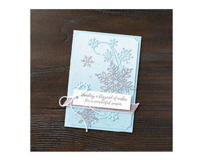 Snowfall Thinlits dies by Stampin' Up!