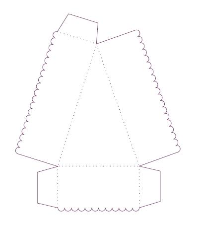 moldes de caixa