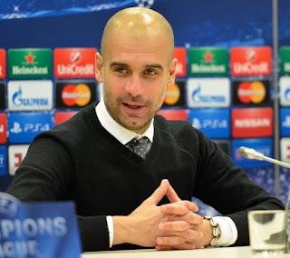 Pep Guardiola, Man City manager