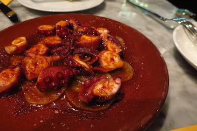 La Tapería, octopus
