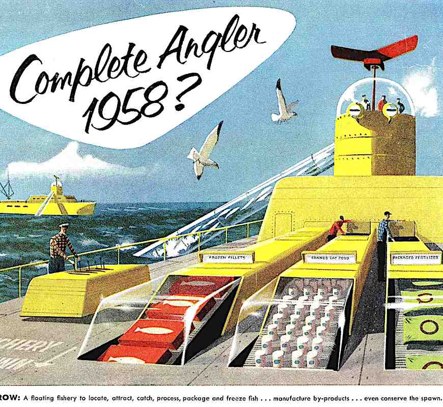 1956 retrofuture fishery factory