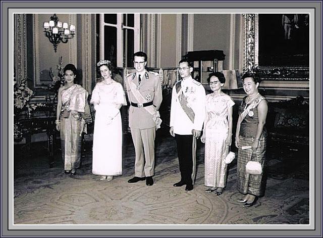 Bhumibol Adulyadej, เบลเยียมกษัตริย์โบดวง, ภูมิพลอดุลยเดช,Thai, ภูมิพลอดุลยเดช, roi, Baudouin,  bangkok, brussels, koninklijk,