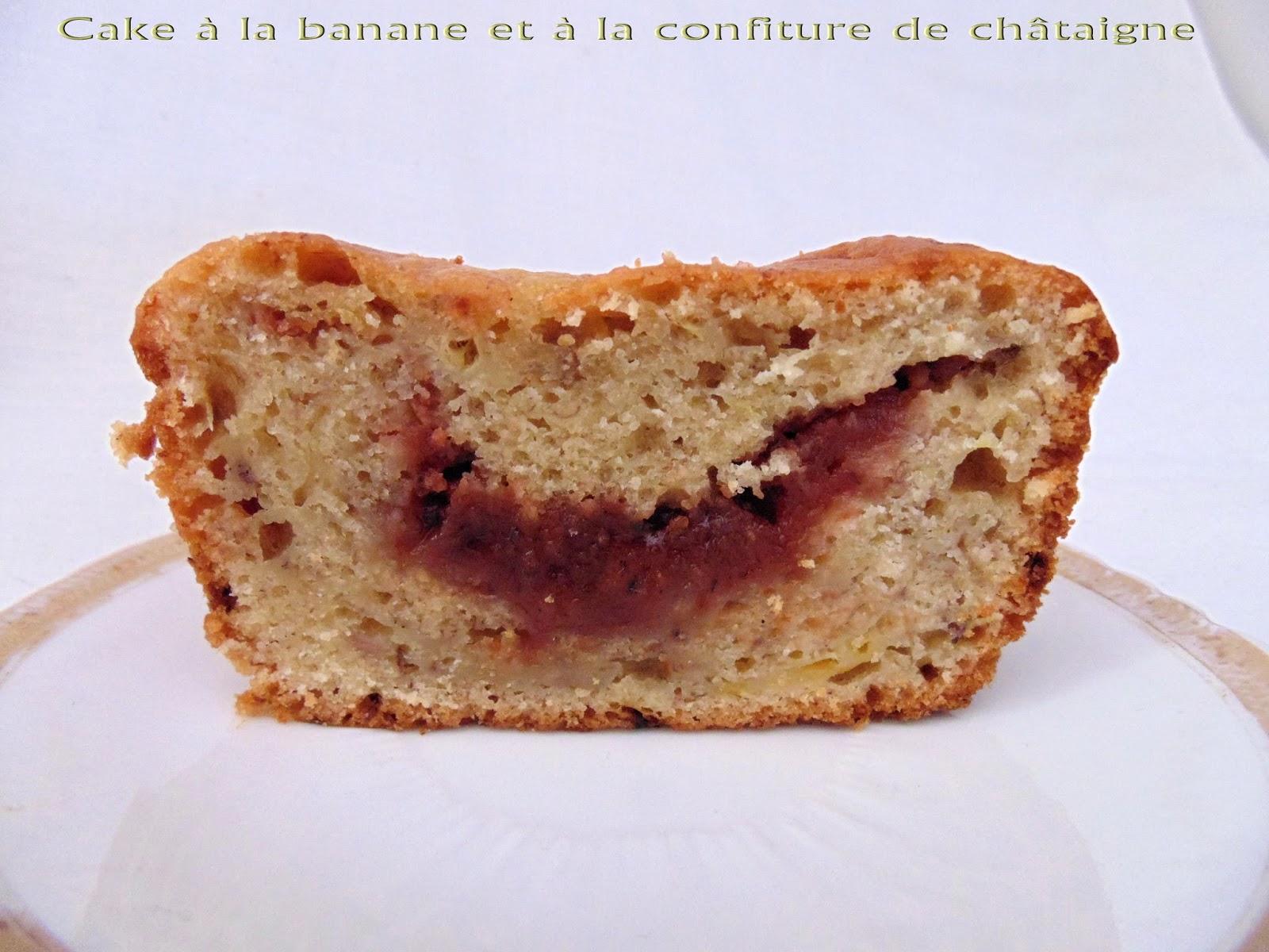 Cake Banane Ki Recipe Dikhao: Love Cakes: Cake à La Banane Et à La