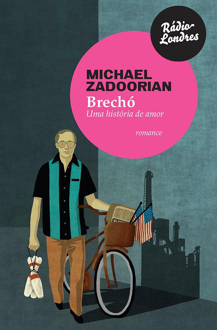 Livro Brechó, de Michael Zadoorian