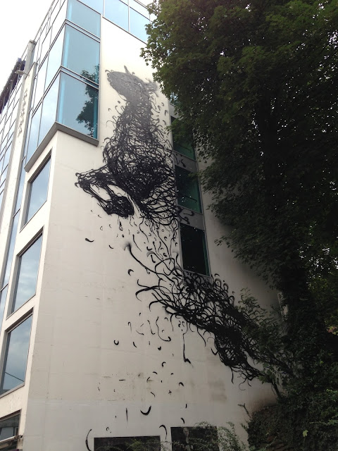 Street Art Pieces By DALeast For Nuart Urban Art Festival In Norway. wall 2