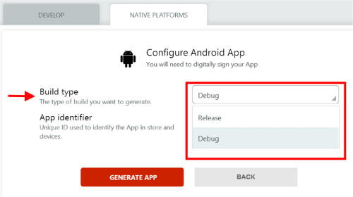 Quick guide to generate your mobile app with OutSystems