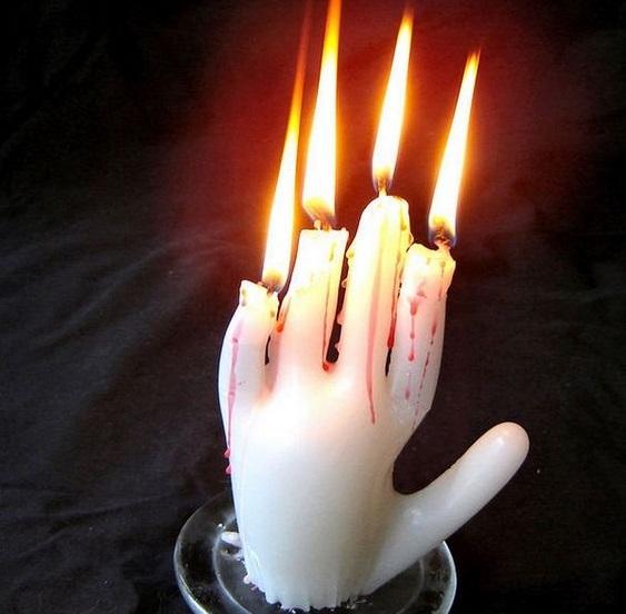 candle halloween