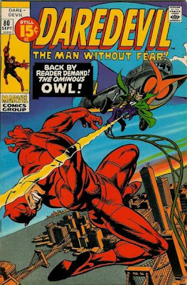 Daredevil #80, the Owl returns