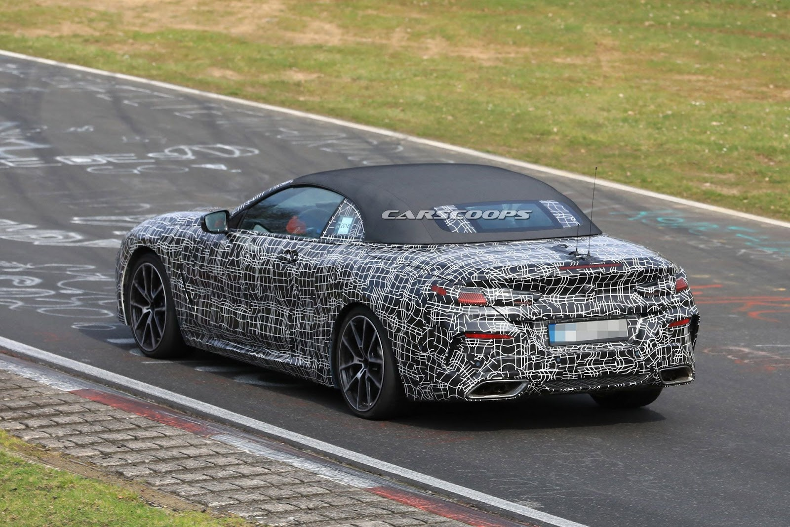 Actually Aside From The 8 Series Coupe And Convertible You See Here In Prototype Form BMW Will Also Build A Four Door Gran
