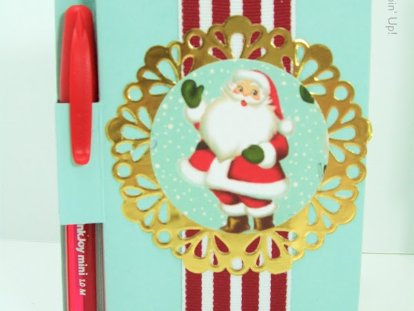 Home for Christmas Santa Post It Note Cover