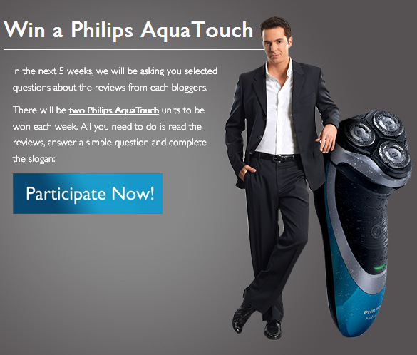 win your very own AquaTouch worth RM399!!