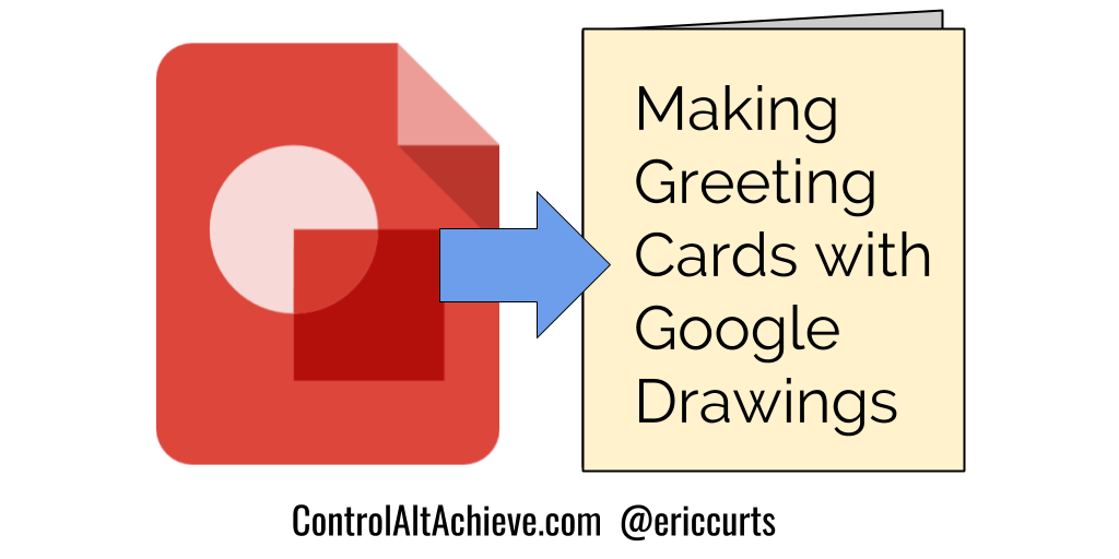Control Alt Achieve How Your Students Can Use Google Drawings To