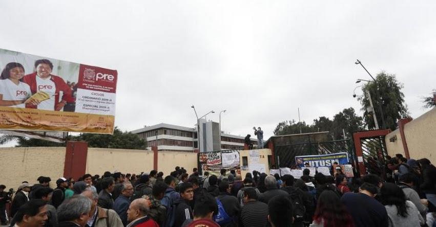 UNMSM: Mañana lunes se reanudan actividades habituales en la Universidad San Marcos