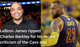 LeBron James, tired of being criticized, fires back: 'Screw Charles Barkley'