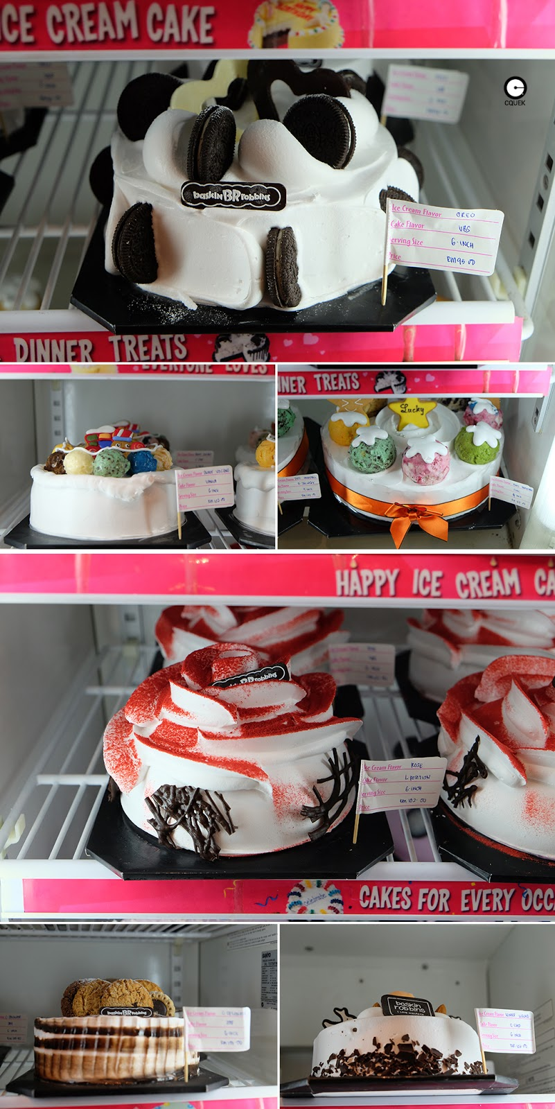 Baskin Robbins Cakes Prices Birthday