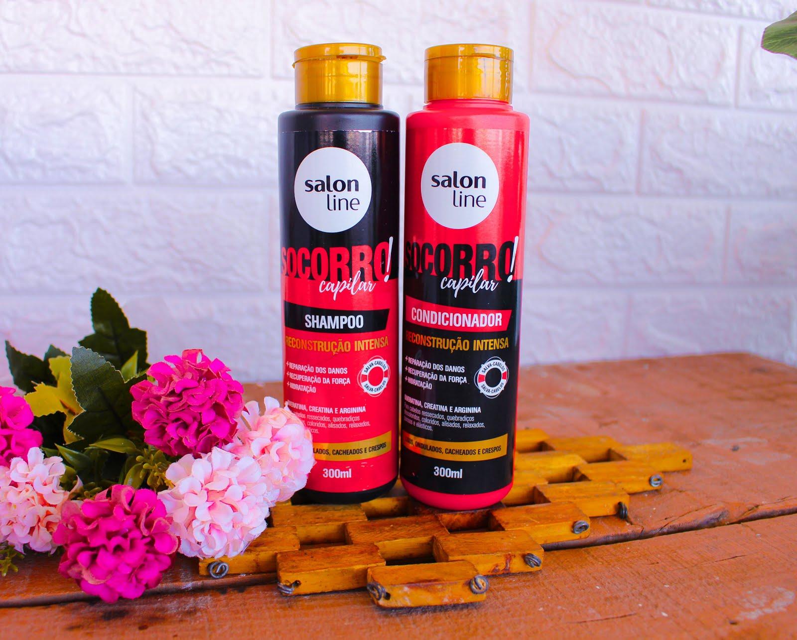 Resenha: Shampoo e Condicionador Socorro Capilar da Salon Line