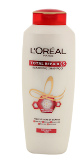 Pros of L'Oreal Paris Total Repair 5 Repairing Shampoo