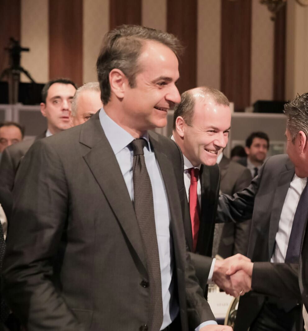 ... kyriakos Mitsotakis of Nea Dimokratia to discuss our common economic  challenges. Populists on the left and right don t create jobs b58eeb25b88