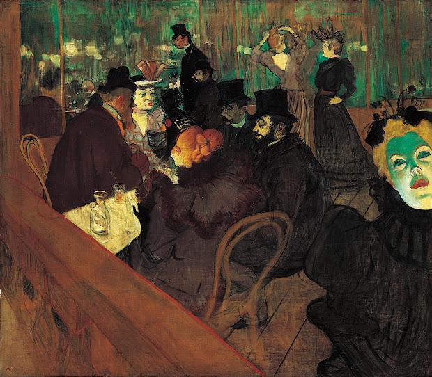 Henri De Toulouse-lautrec Moulin Rouge 1892 ; Art