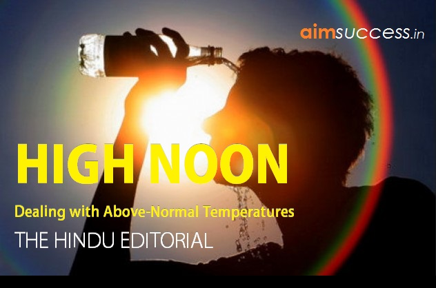 High Noon: THE HINDU EDITORIAL