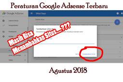 Cara Menambahkan Situs di Google Adsense Terbaru Oktober 2018 | Klarifikasi Peraturan Adsense Terbaru