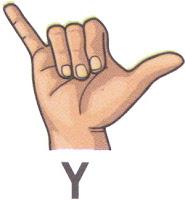 Bahasa Isyarat Y