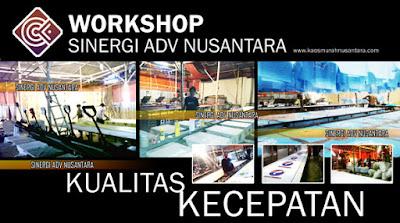 Workshop Pabrik kaos Partai Jakarta bandung