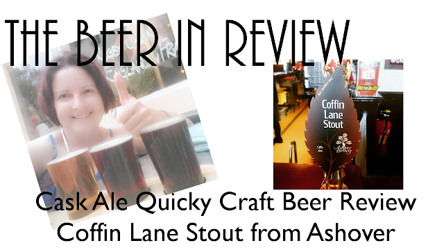 Cask ale quicky craft beer review on youtube