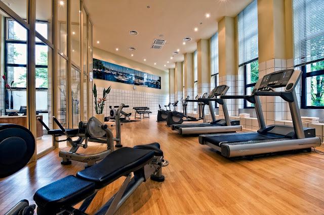 Khu tập Gym hiện đại
