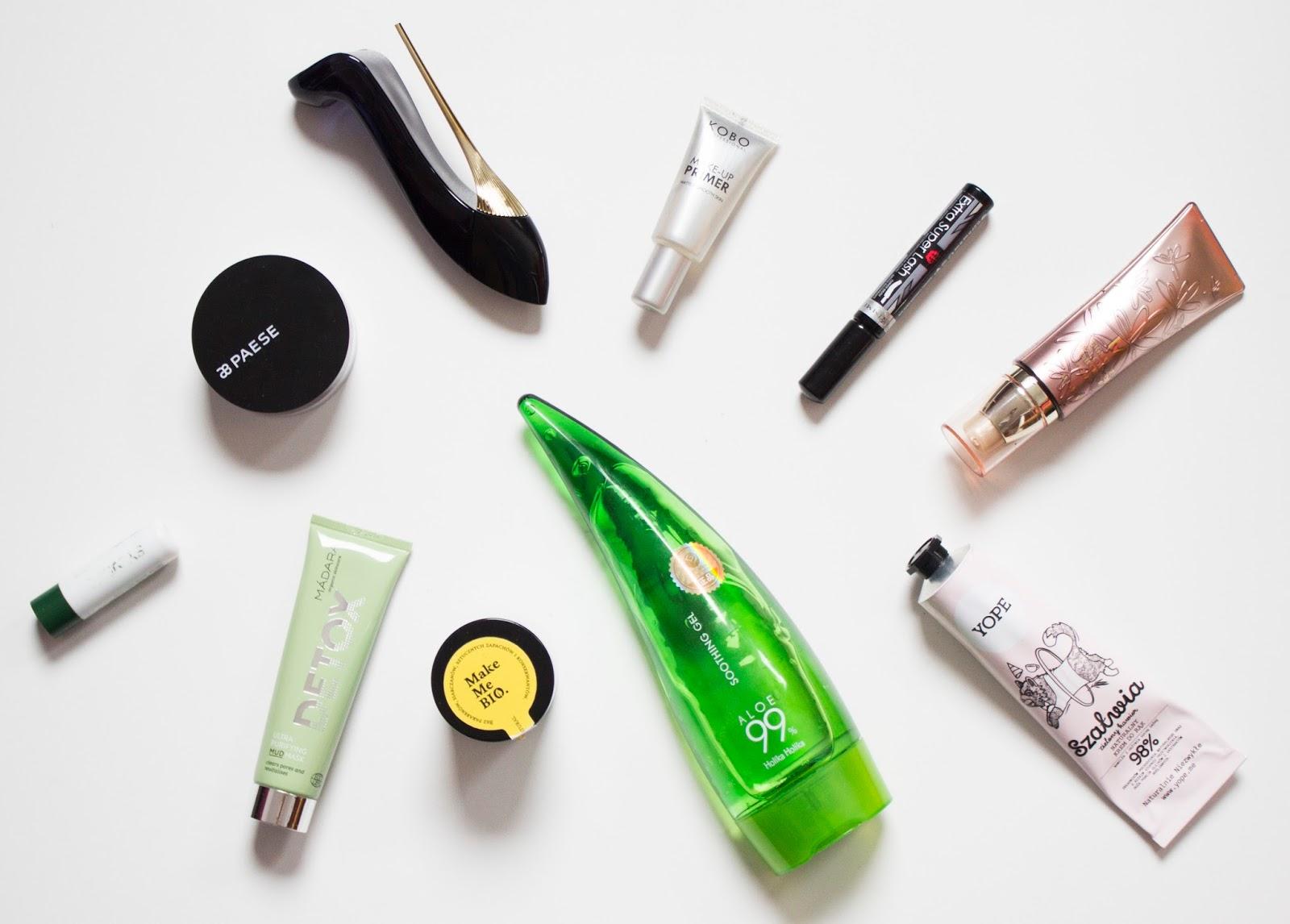 ulubieńcy kosmetyczni roku, 2017 rok, kosmetyki, recenzja