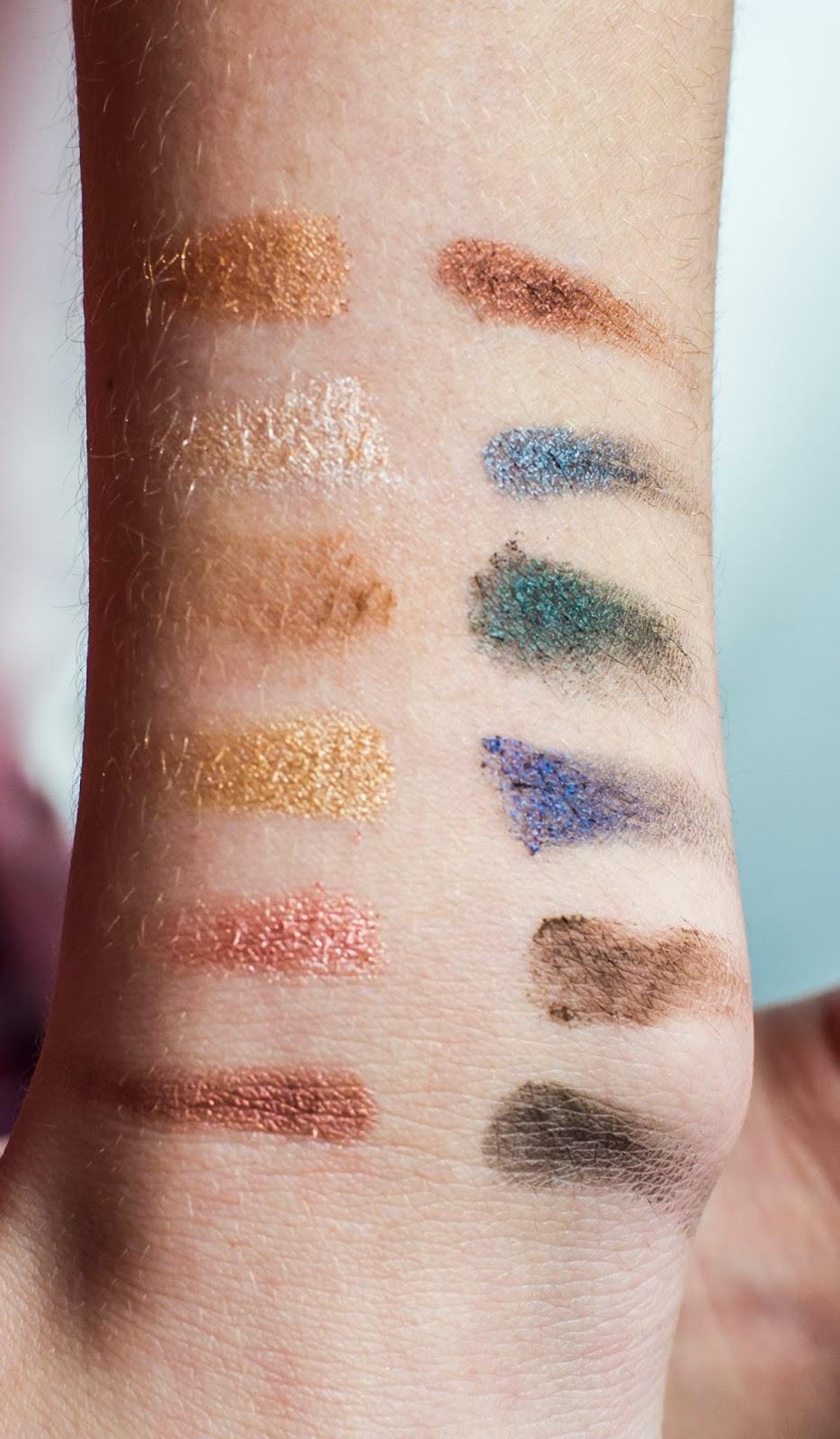 pigmentace, sleek, i-divine, storm palette, oční stíny