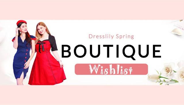 Wishlist Dresslily: Moda Retrô